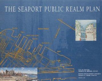 Seaport Public Realm Plan - Boston Redevelopment Authority