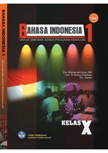 Bahasa Indonesia 1: untuk SMK/MAK
