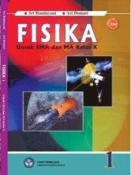 Cover FISIKA 10 Sri Handayani