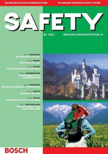 Videosensor SAVE.SENS - Bosch Sicherheitssysteme GmbH