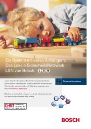 400XXX_Bosch/Safety 01/03 - Bosch Sicherheitssysteme GmbH