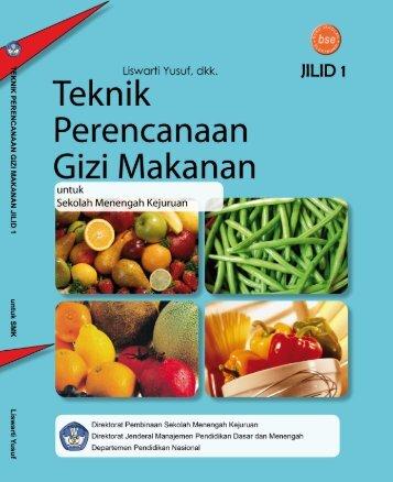 teknik perencanaan gizi makanan jilid 1 smk
