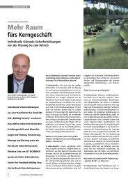 Interview mit Volker Schleenbecker, Senior Vice President Building ...