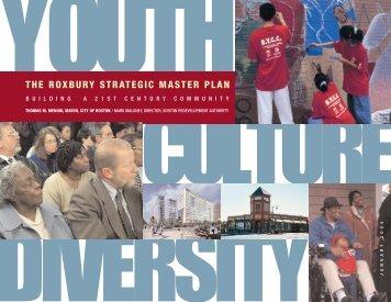 the roxbury strategic master plan - Boston Redevelopment Authority