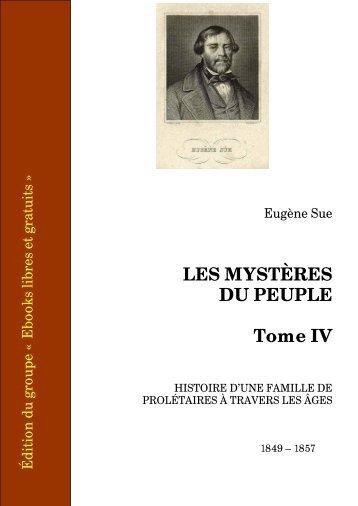 Telecharger Les Mysteres du peuple - Ebooks libres et gratuits