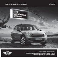 MINI Countryman R60 07-11.indd - Motorline.cc