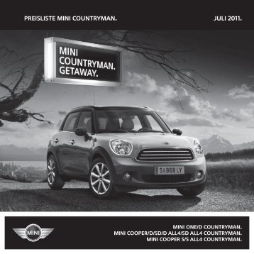 MINI Countryman R60 07-11.indd - Motorline.cc