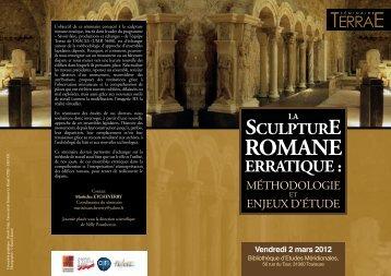 la sculpture romane erratique - Amigos del Románico