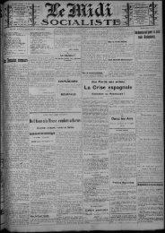 La Crise espagnole - Bibliothèque de Toulouse