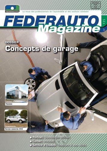 Concepts de garage - Federauto Magazine