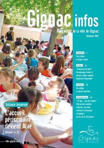 Automne 2012 - Ville de Gignac