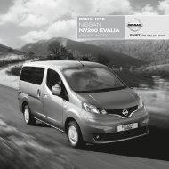 NISSAN NV200 eVAliA - Motorline.cc
