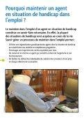 Guide du maintien dans l'emploi des agents fragilisés par ... - CCAS - Page 4