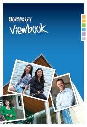 BVC Viewbook - 2012-13 - Bow Valley College