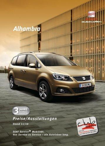 Preisliste Alhambra 05_09 - Motorline.cc