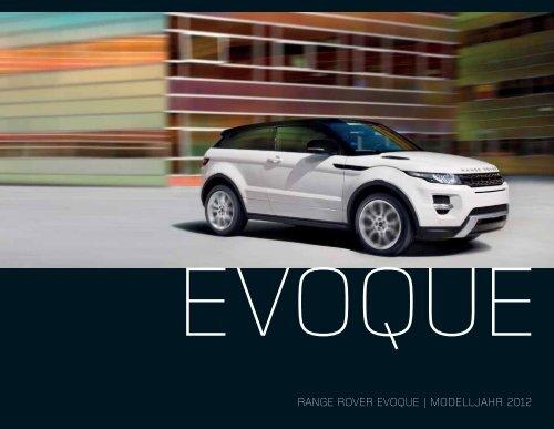 RANGE ROVER EVOQUE | MODELLJAHR 2012 - Motorline.cc