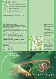 PREISLISTE 2/2010 TERMINE - Weingut Simon-Bürkle