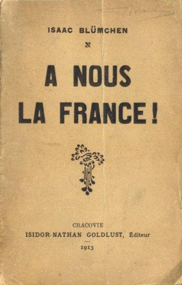 A Nous La France! - LES ANTISEMITES ONT-ILS RAISONS