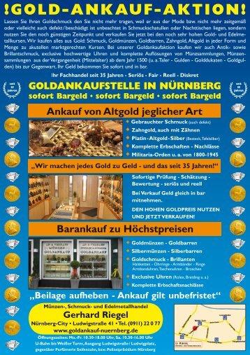 !GOLD-ANKAUF-AKTION! - Branchenbuch meinestadt.de