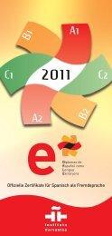 A1 A2 B1 C1 C2 - Instituto Cervantes Bremen