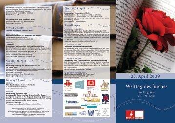 Welttag des Buches - Instituto Cervantes Bremen