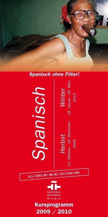 Spanisch Herbst - Instituto Cervantes Bremen