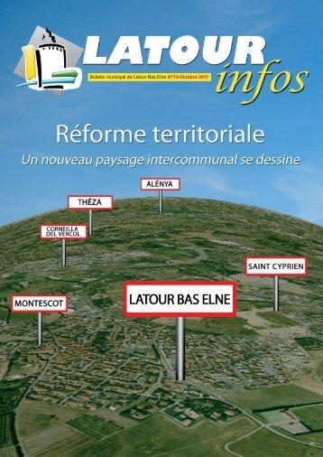 Bulletin municipal de Latour Bas Elne N°13-Octobre 2011