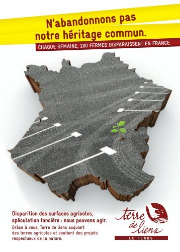 Dépliant Terre de Liens ( pdf , 746 ko ) - Biocoop
