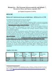 Résumé eurozone between austerity&default Version 2 - cadtm