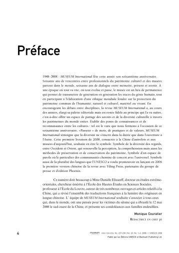Pre´face - Unesco