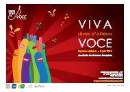 le dossier de presse - Viva Voce