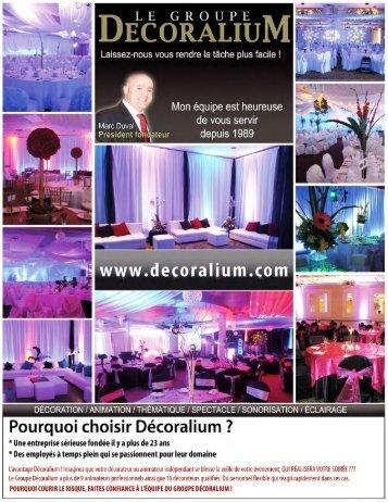 Télécharcher notre catalogue - Le Groupe Decoralium