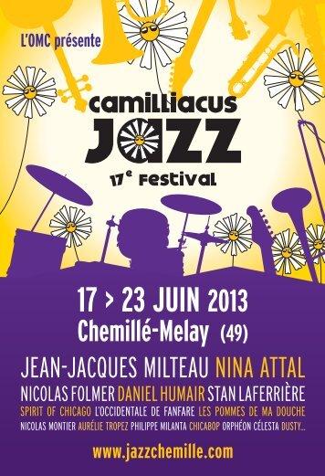 Télécharger le programme - Camilliacus Jazz Festival