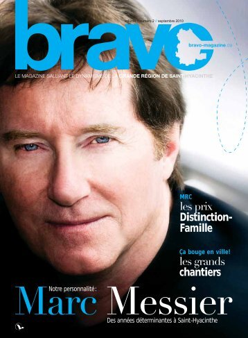 les prix Distinction- Famille les grands chantiers - Bravo Magazine