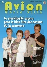 La municipalité œuvre pour le bien être des seniors de la ... - Avion