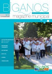magazine municipal - Mairie de Biganos