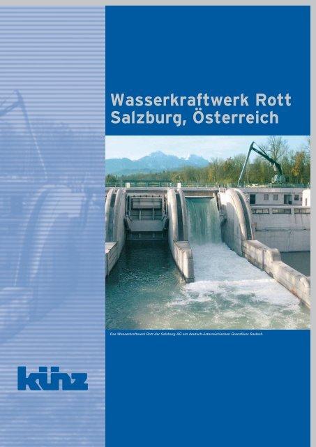 Wasserkraftwerk Rott Salzburg, Österreich