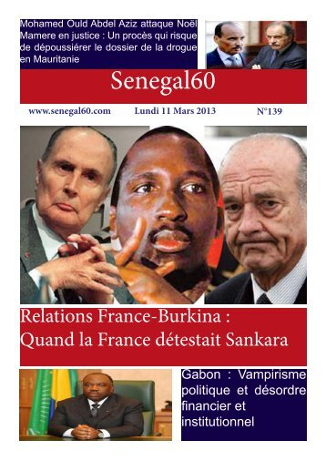 Télécharger la revue de presse - senegal60.com