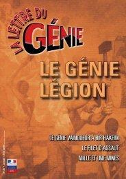 Lettre du g.nie n. 31 - Le génie militaire français