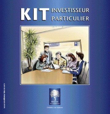 Kit Investisseur Particulier - Bourse de Casablanca