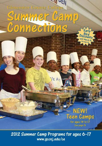 Gloucester County College Summer Camp Connections - Welcome