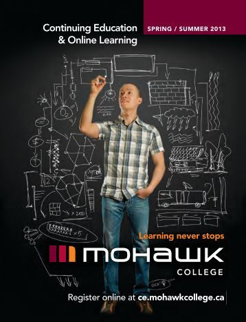 Mohawk College Continuing Education Catalogue ... - Welcome