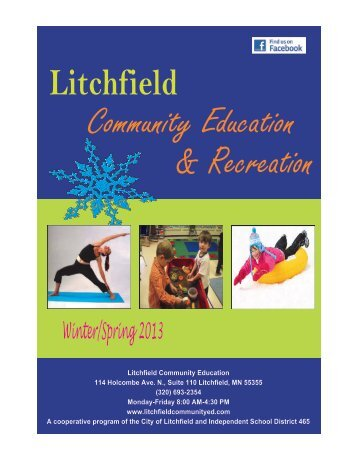 Litchfield Community Education 114 Holcombe Ave. N ... - Welcome