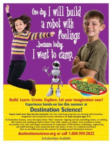 Destination Science Summer Camp - Golden Elementary School