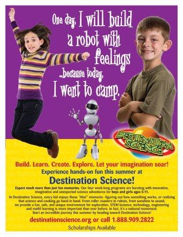 Destination Science Summer Camp - Golden Elementary School