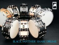 Black panther catalog - mapex drums
