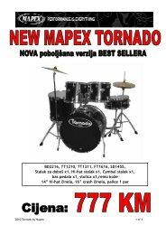 Tornado By Mapex -