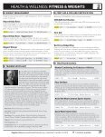 HEALTH & wELLNESS: FITNESS & wEIGHTS - Welcome - Page 2