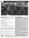 HEALTH & wELLNESS: FITNESS & wEIGHTS - Welcome - Page 3