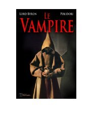 Le Vampire - Editions Humanis